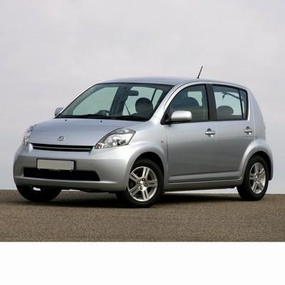 Autó izzók a 2005 utáni halogén izzóval szerelt Daihatsu Sirion-hoz
