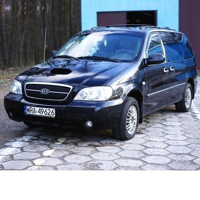 For Kia Carnival (1999-2006) with Halogen Lamps