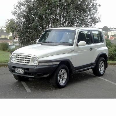 Autó izzók halogén izzóval szerelt Ssangyong Korando (1996-2006)-hoz