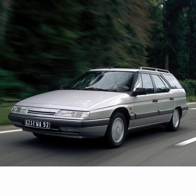 Autó izzók halogén izzóval szerelt Citroen XM Break (1989-1994)-hez