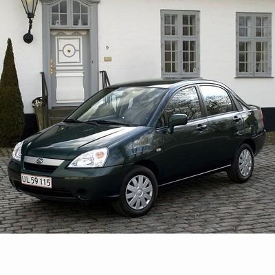 Autó izzók halogén izzóval szerelt Suzuki Liana Sedan (2001-2007)-hoz