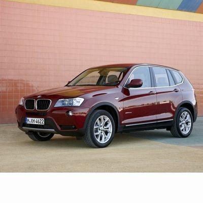 Autó izzók a 2010 utáni bi-xenon fényszóróval szerelt BMW X3 (F25)-hoz