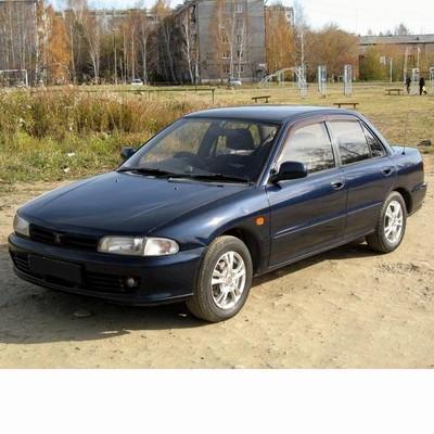 Autó izzók halogén izzóval szerelt Mitsubishi Lancer (1991-1995)-hez
