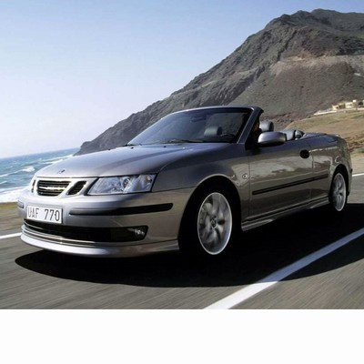 For Saab 9-3 Cabrio (2003-2008) with Halogen Lamps