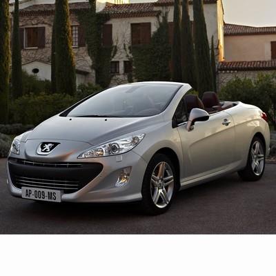 Autó izzók a 2009 utáni halogén izzóval szerelt Peugeot 308 Coupe-hoz