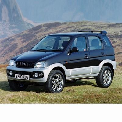 Autó izzók halogén izzóval szerelt Daihatsu Terios (1997-2005)-hoz