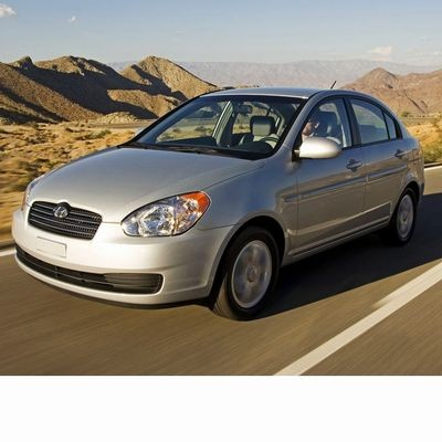 For Hyundai Accent (2005-2010) with Halogen Lamps