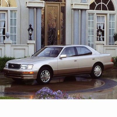 Autó izzók halogén izzóval szerelt Lexus LS (1994-2000)-hez