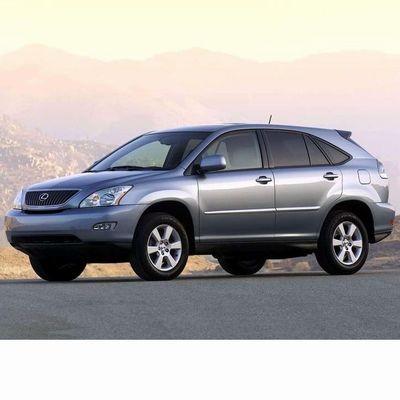 Autó izzók halogén izzóval szerelt Lexus RX (2003-2008)-hez
