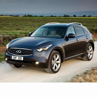 Autó izzók bi-xenon fényszóróval szerelt Infiniti Fx (2008-2013)-hez