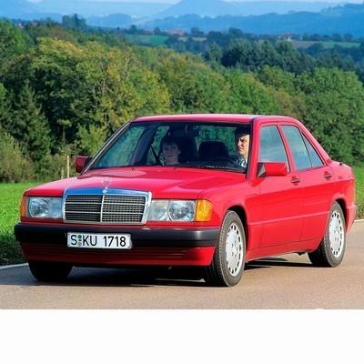 Autó izzók halogén izzóval szerelt Mercedes 190 (1982-1993)-hez