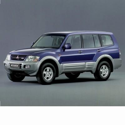 Autó izzók halogén izzóval szerelt Mitsubishi Pajero (2000-2002)-hoz