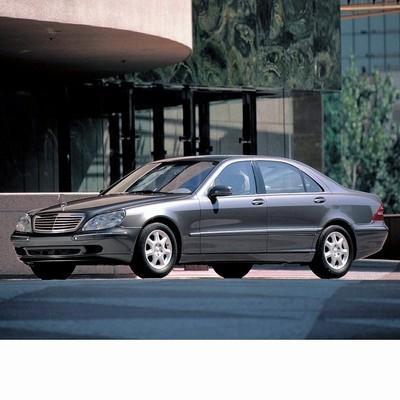 Mercedes S (1998-2005) autó izzó