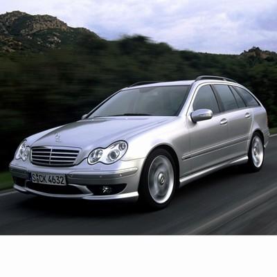 For Mercedes C Kombi (2001-2007) with Halogen Lamps
