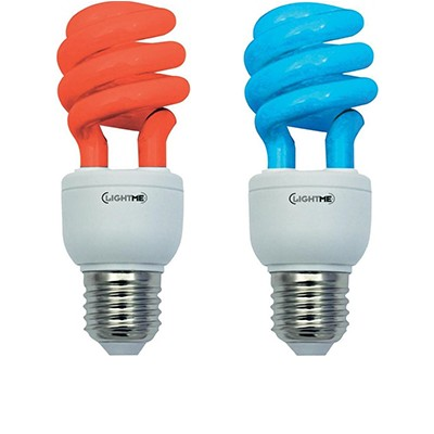 Colored Compact Fluorescent Lamps