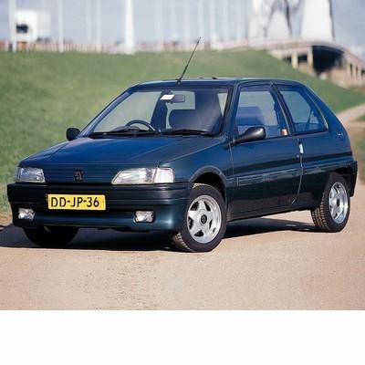 Autó izzók halogén izzóval szerelt Peugeot 106 (1991-1996)-hoz