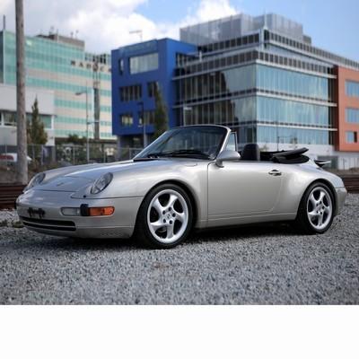 Autó izzók halogén izzóval szerelt Porsche 911 Cabrio (1994-1997)-hoz