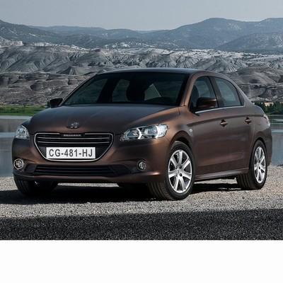 Autó izzók a 2012 utáni halogén izzóval szerelt Peugeot 301-hez