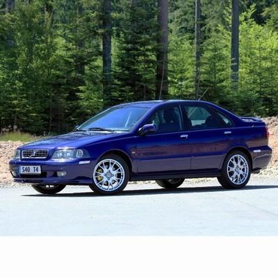 Autó izzók két halogén izzóval szerelt Volvo S40 (1995-2004)-hez