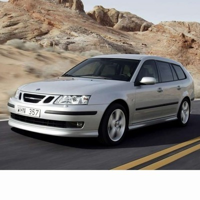 For Saab 9-3 Kombi (2005-2008) with Halogen Lamps