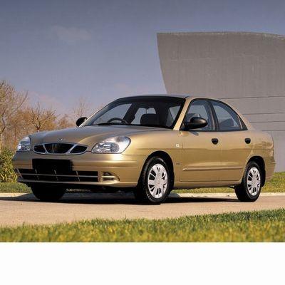 Autó izzók két halogén izzóval szerelt Daewoo Nubira (1997-2003)-hoz