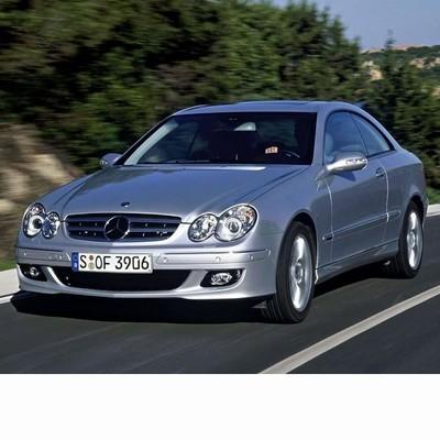 Autó izzók bi-xenon fényszóróval szerelt Mercedes CLK (2002-2009)-hoz