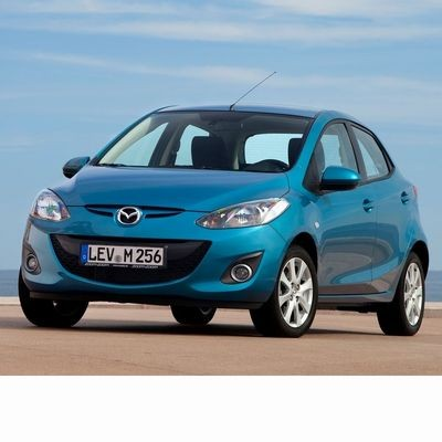 For Mazda 2 (2007-2014) with Two Halogen Lamps
