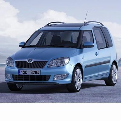 Autó izzók a 2011 utáni két halogén izzóval szerelt Skoda Roomster-hez