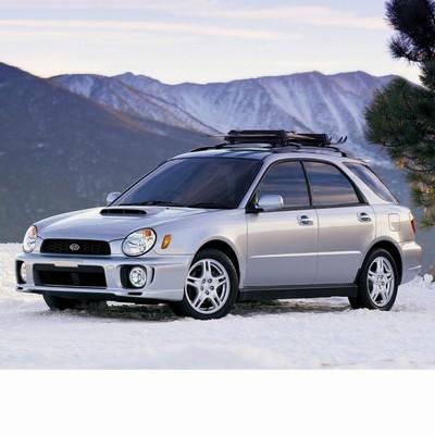 For Subaru Impreza Kombi (2000-2002) with Two Halogen Lamps