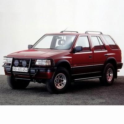 Autó izzók halogén izzóval szerelt Opel Frontera (1991-1998)-hoz