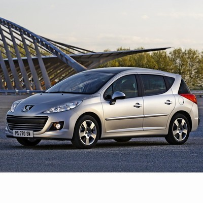 For Peugeot 207 Kombi (2009-2012) with Halogen Lamps