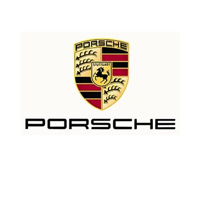 Porsche autó izzó