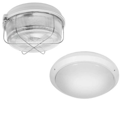 Wall and Ceiling Luminaires with Cover