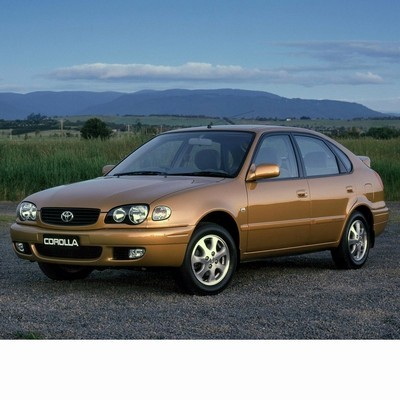 Autó izzók halogén izzóval szerelt Toyota Corolla 5 ajtós (1999-2002)-hoz