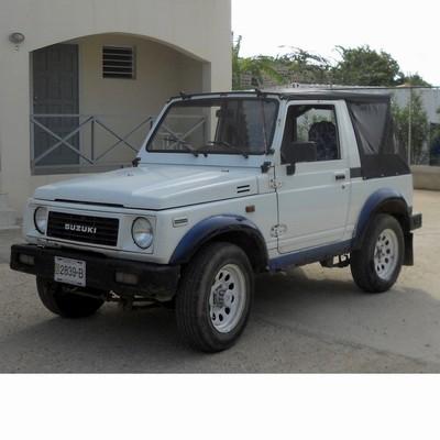 Autó izzók halogén izzóval szerelt Suzuki Samurai (1988-1998)-hoz