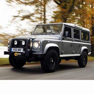 Autó izzók az 1990 utáni halogén izzóval szerelt Land Rover Defender SW-hez