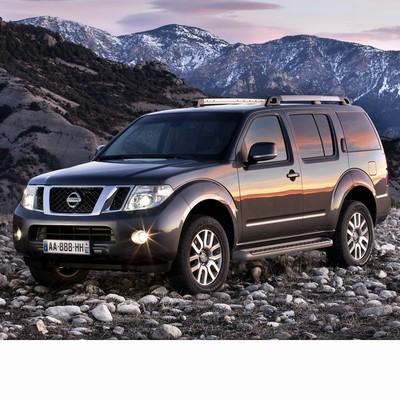 Autó izzók halogén izzóval szerelt Nissan Pathfinder (2005-2014)-hez