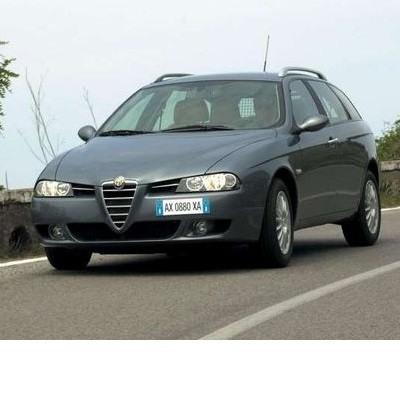 For Alfa Romeo 156 Sportwagons (2000-2006) with Halogen Lamps