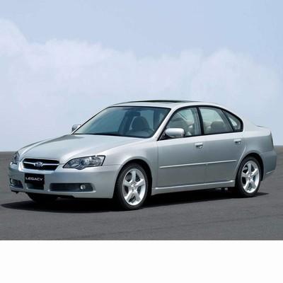 Autó izzók halogén izzóval szerelt Subaru Legacy (2003-2006)-hoz