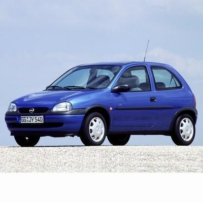 Autó izzók halogén izzóval szerelt Opel Corsa B (1993-2000)-hoz