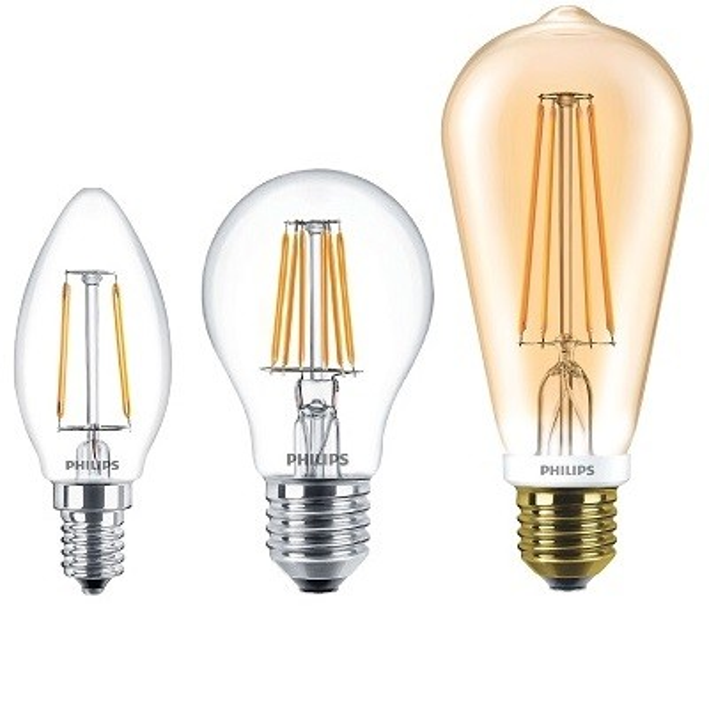 Retro, filament LED