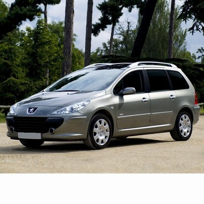 For Peugeot 307 Kombi (2005-2008) with Halogen Lamps