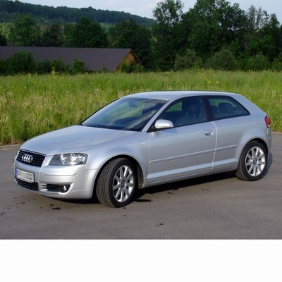 For Audi A3s (2003-2009) with Halogen Lamps