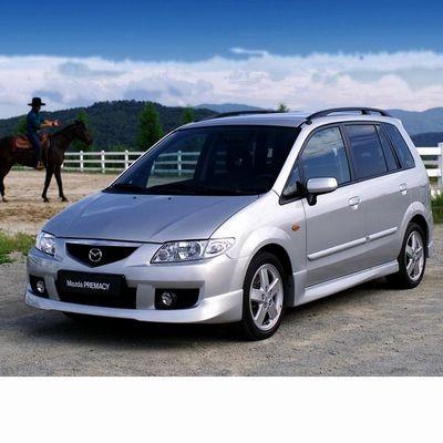 Autó izzók halogén izzóval szerelt Mazda Premacy (1999-2005)-hez