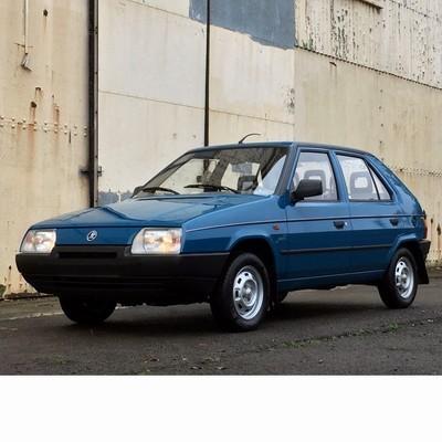 Autó izzók halogén izzóval szerelt Skoda Favorit (1989-1994)-hoz