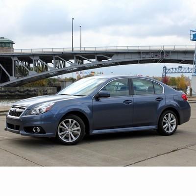 Autó izzók halogén izzóval szerelt Subaru Legacy (2009-2014)-hoz