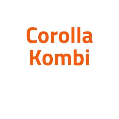 Toyota Corolla Kombi autó izzó