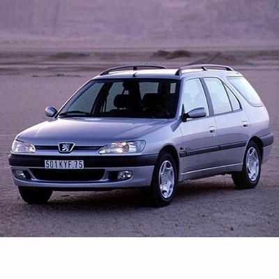 Autó izzók két halogén izzóval szerelt Peugeot 306 Kombi (1994-2002)-hoz