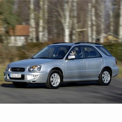 Autó izzók két halogén izzóval szerelt Subaru Impreza Kombi (2002-2007)-hoz