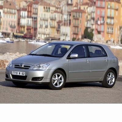 Autó izzók halogén izzóval szerelt Toyota Corolla 5 ajtós (2004-2007)-hoz
